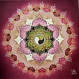 Obrazy - Mandala šťastného cyklu a lásky - 13041202_