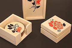 Krabičky - Svadobný darčekový trojset trojRUŽA - 13041487_