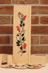 Krabičky - Svadobný darčekový trojset trojRUŽA - 13041497_