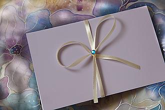 Papiernictvo - Darčekové balenie na hodváb... - 13040755_