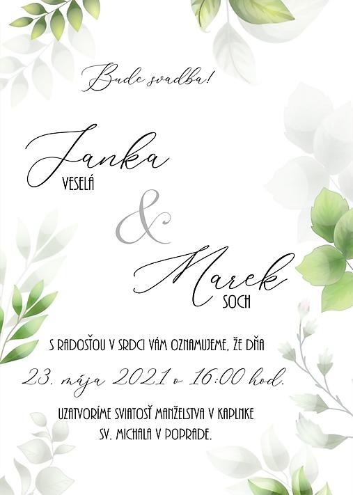 svadobné oznámenie 278