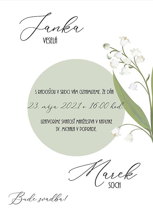 svadobné oznámenie 279