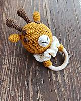 Hračky - Hračka žirafka akurát do ručičky - 13041228_