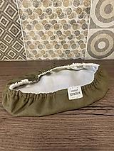 Úžitkový textil - Vojenská zelená - 13041845_