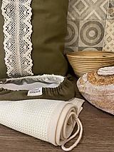 Úžitkový textil - Vojenská zelená - 13041850_