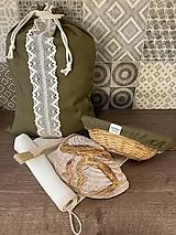 Úžitkový textil - Vojenská zelená - 13041891_