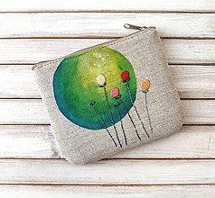 Taštičky - Taštička Zelený kruh - 13041070_