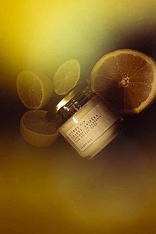 Svietidlá a sviečky - Sójová sviečka - Citrus MIX, Eukalyptus, Mäta... - 13039958_