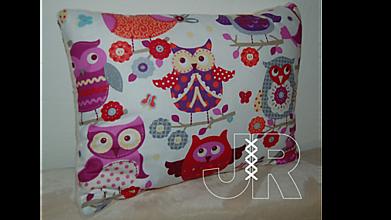 Úžitkový textil - vankúš sova - 13041123_