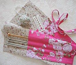 Úžitkový textil - Organizér na ihlice XL - 13044810_