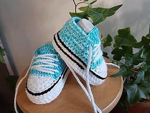 Detské topánky - Denim tenisky - 13047370_