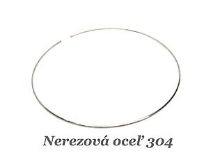 Komponenty - Obruč - Náhrdelník /M5901/ - nerez.oceľ 304 - 13044080_
