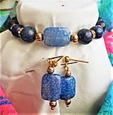 Sady šperkov - Elegantný lapis lazuli - 13047082_