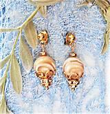 Náušnice - Luxusná perleť - 13047144_