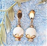 Náušnice - Luxusná perleť - 13047145_