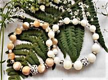 Náramky - Luxusná perleť- náramky - 13047160_