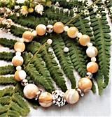 Náramky - Luxusná perleť- náramky - 13047164_