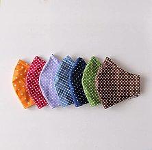 Rúška - Rúška farebné bodkované - 13044092_