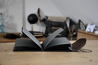 Papiernictvo - kožený notes HOT CHOCOLATE - 13046213_