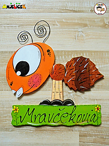 Tabuľky - Menovka - mravec - 13044869_