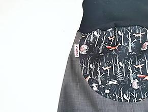 """Detské oblečenie - Softshellky jarné """"horou hlbokou"""" - 13043603_"""