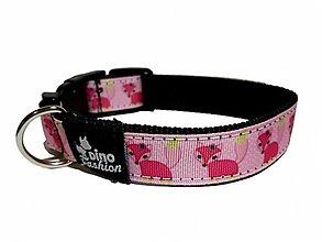 Pre zvieratá - Obojok Pink Fox - 13045775_