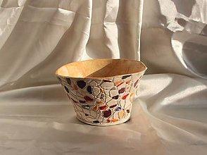 """Nádoby - Keramická miska """"Mozaika"""" - 13044746_"""