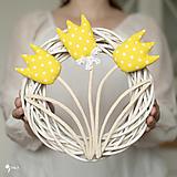 """Dekorácie - veniec Gizela zo série """"tulipánové"""" - 13045857_"""