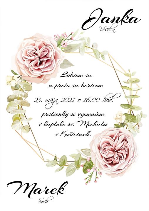 svadobné oznámenie 284