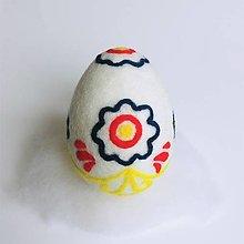Dekorácie - Veľkonočné vajíčko folk 2 - 13045027_