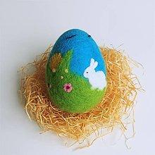 Dekorácie - Veľkonočné vajíčko - na lúke 1 - 13045055_