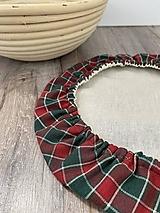 Úžitkový textil - Čiapka na kysnutie cesta podšitá ľanom - 13044300_