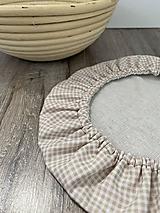 Úžitkový textil - Čiapka na kysnutie cesta podšitá ľanom - 13044351_