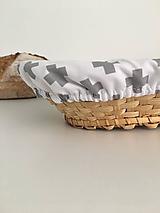 Úžitkový textil - Čiapka na kysnutie cesta podšitá ľanom - 13044388_