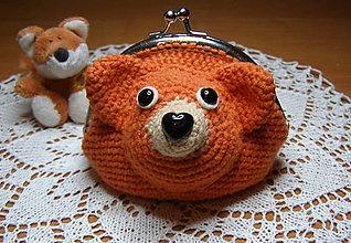 Hračky - peňaženka líštička - 13051741_
