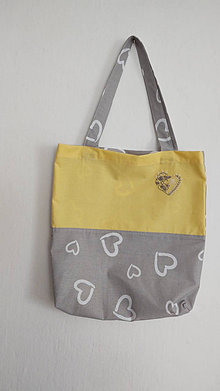 Nákupné tašky - Nákupná taška - srdce - 13050333_