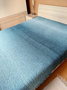 Úžitkový textil - deka-prehoz  230x220 petrolejova - 13049623_