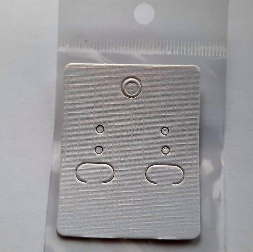 Karta na náušnice-1ks