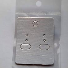 Obalový materiál - Karta na náušnice-1ks - 13051423_