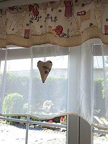 Úžitkový textil - Zaclonka pre Luciu - 13049524_