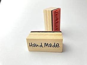 Pomôcky/Nástroje - Pečiatka Hand Made - 13048414_
