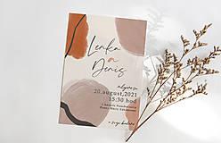 Papiernictvo - svadobné oznámenie n7 pastelové - 13049183_