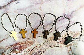 Kľúčenky - Prívesok krížik - 13049096_