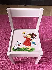 Nábytok - Stolička pre deti - 13048150_