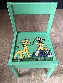 Nábytok - Stolička pre deti - 13048193_