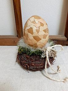 Dekorácie - Dekorácia vajíčko - 13047596_