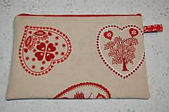 Taštičky - srdiečková - 13050501_
