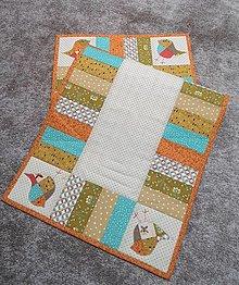 Úžitkový textil - Obrus vtáčiky - 13056627_