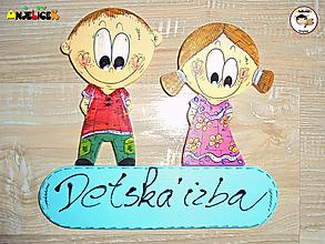 Tabuľky - Menovka - dvojica - 13054615_