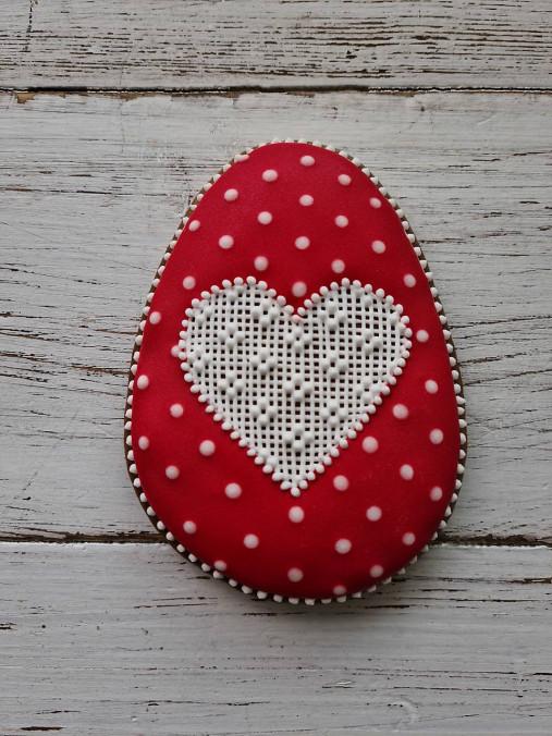 Dekorácie - Veľkonočné vajíčko - 13055975_